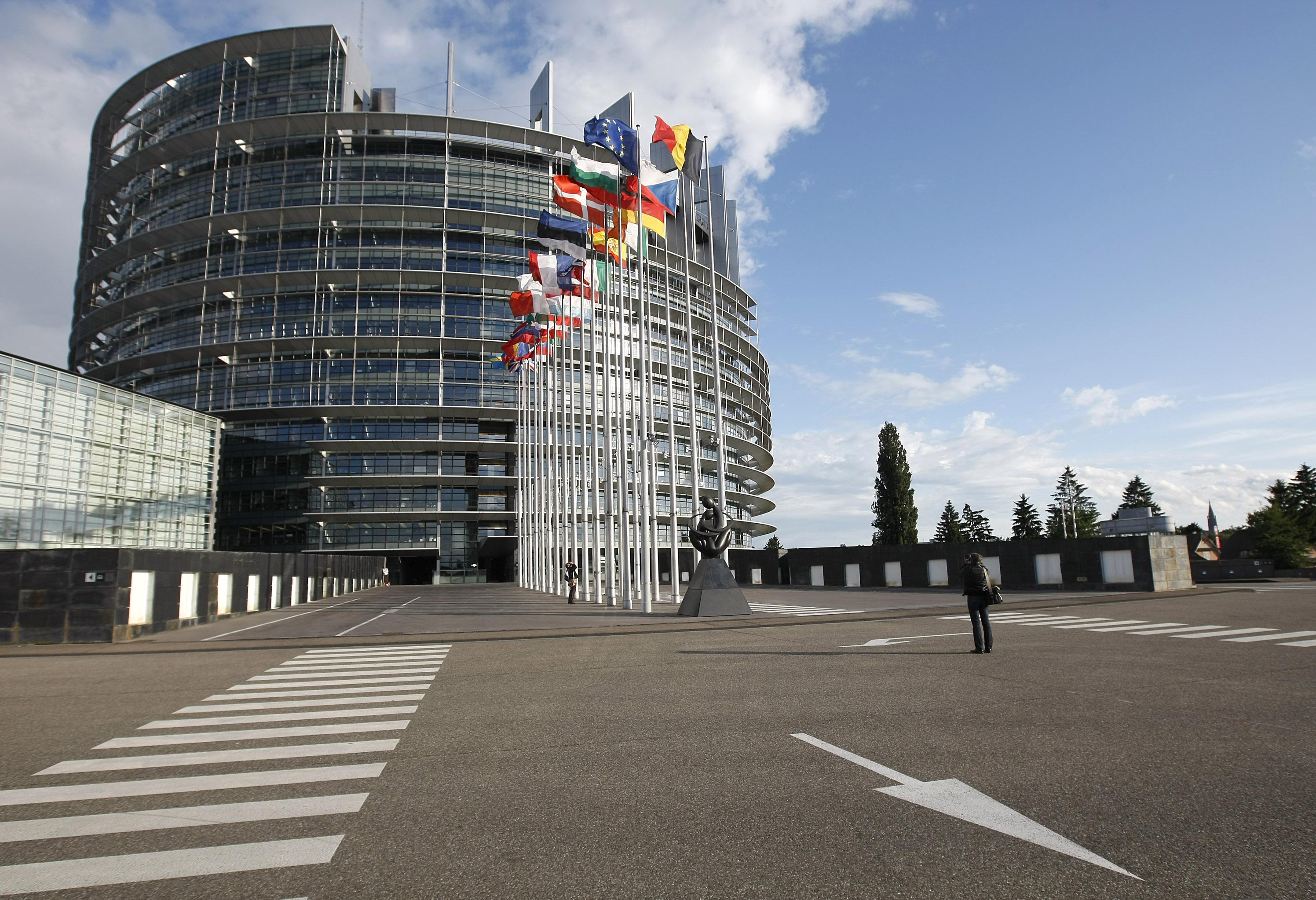 Parlement strasbourg une premi re victoire nathalie for Parlamento sede